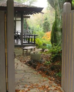 Historic Japanese House - Villanova - fall