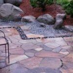 Nobedan-style natural stone patio, Manheim