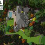 Mountaintop estate