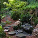 Tsukubai and stepping stones, Lancaster
