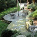 Pennsylvania Bluestone in ashlar pattern, Wrightsville