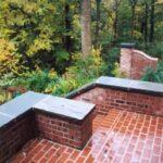 Brick patio, Lancaster