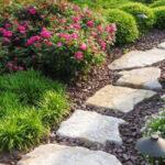 Sandstone rustic steps