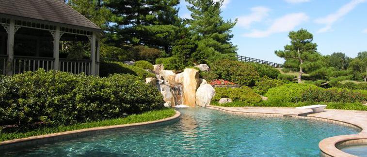 Pool Landscape Design pool 1