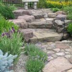 English herb and flower garden