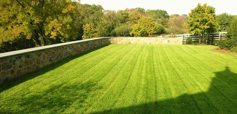 Estate lawn with irrigation, Elizabethtown, PA