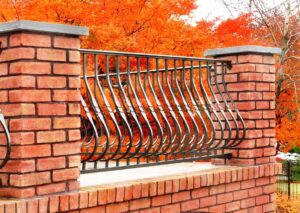 Aluminum terrace railing for safety, view and appearance, Lancaster, PA