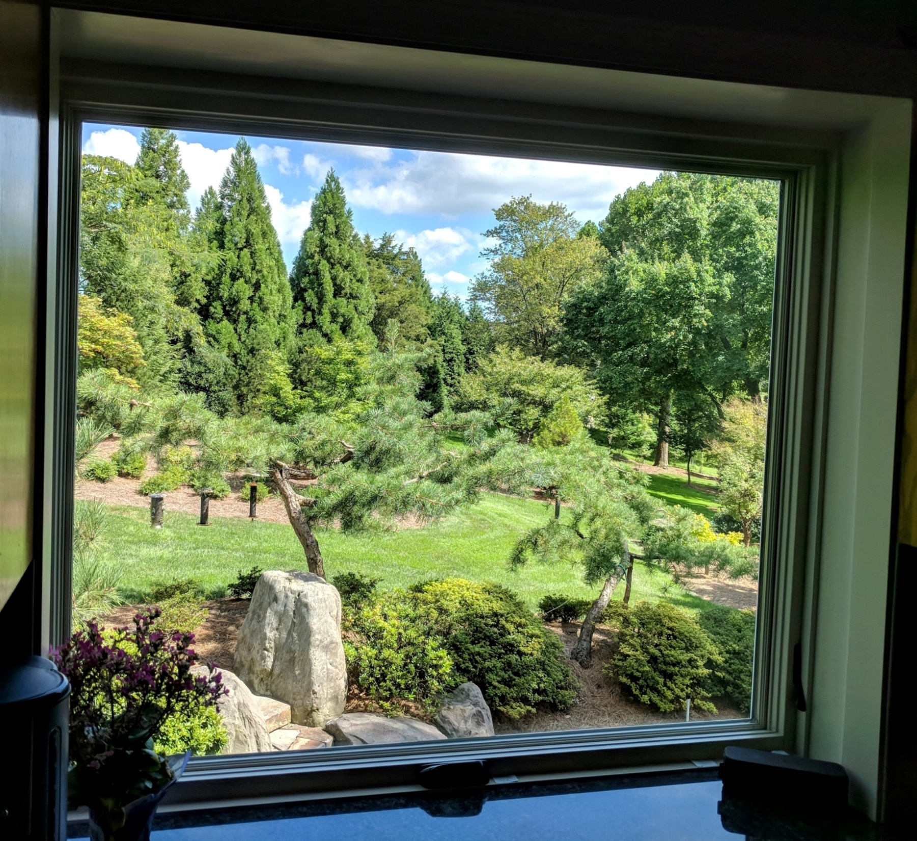 Like a landscape painting, each window is an opportunity to bring the natural world close, Manheim, PA