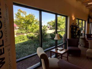 Windows frame living art, Manheim, PA