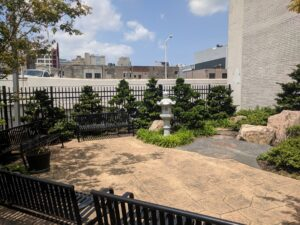New garden promises a respite from city life for condominium in Chinatown, Philadelphia, PA