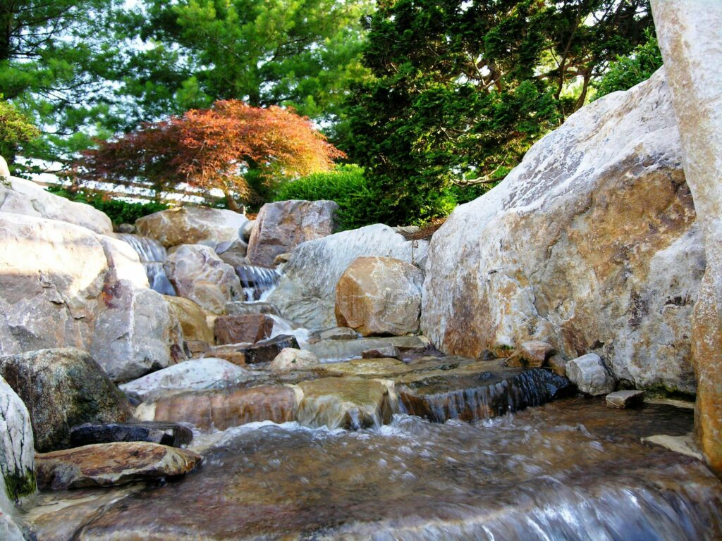 Multi-part stream replicates nature, Manheim, PA