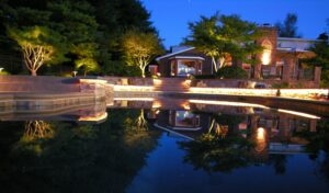 Custom lighting creates evening elegance, Lancaster, PA