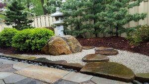 Japanese courtyard garden, Bryn Mawr, PA